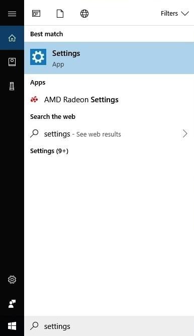 Chạy Trình khắc phục sự cố Windows 10